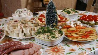 Бюджетный праздничный стол