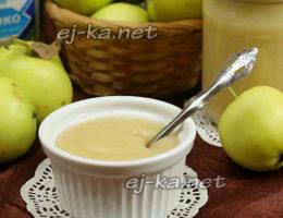 Нежное пюре из яблок
