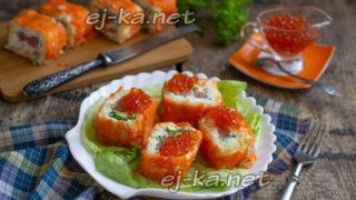 салат-рулет