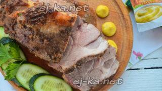 буженина по-домашнему из свинины