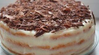 Миниатюра к статье Творожный торт на сковороде