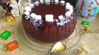 Миниатюра к статье Вкуснейший шоколадный торт на раз, два, три в мультиварке