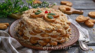 торт без выпечки за 15 минут