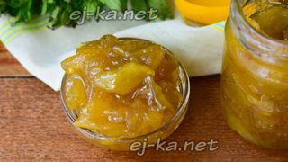 Варенье из яблок белый налив